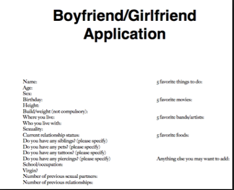 boyfriend dating application